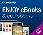 Graphic icon for OverDrive ebooks and audio books