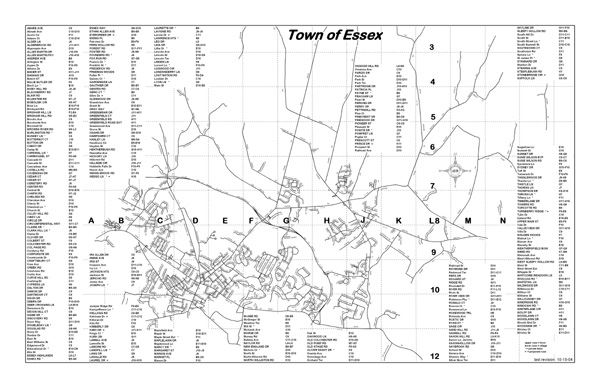 Essex Street Map (PDF) Opens in new window